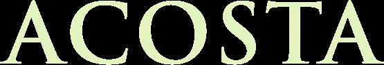 Acosta logotype